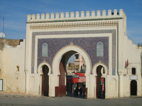 Bab Boujouloud Gate - Fez