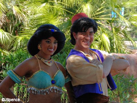 Aliddin and Jasmine