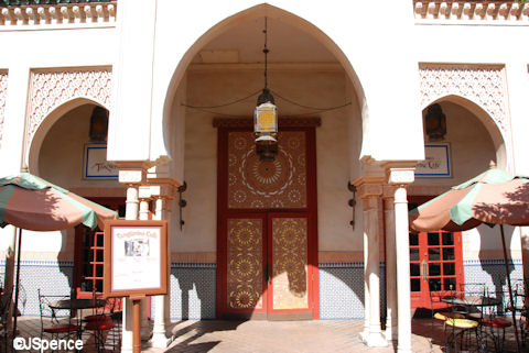 Tangierine Café - Exterior
