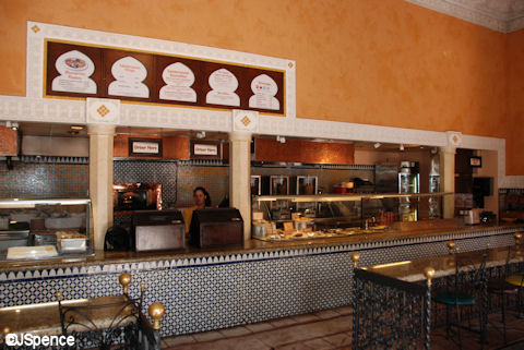 Tangierine Café - Interior