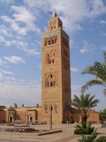 Koutoubia Minaret - Marrakesh