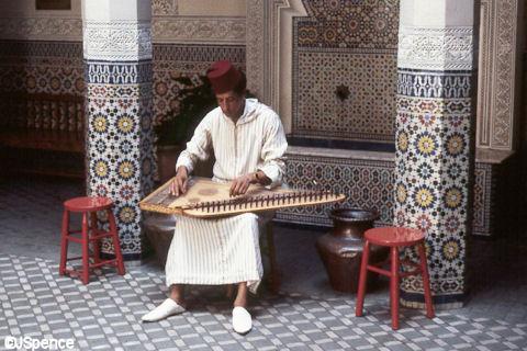 Fez House Musician