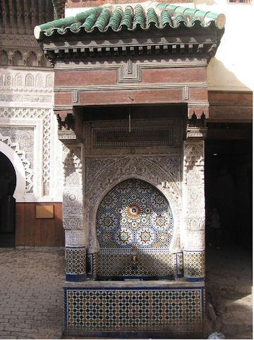 Nejjarine Fountain - Fez