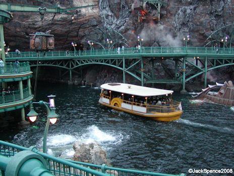 DisneySea Transit Steamer at Mysterious Island at Tokyo DisneySea