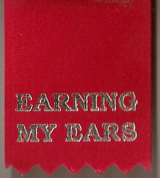 Earning My Ears Ribbon