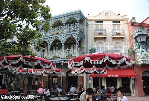 Cafe Orleans Tokyo Disneyland