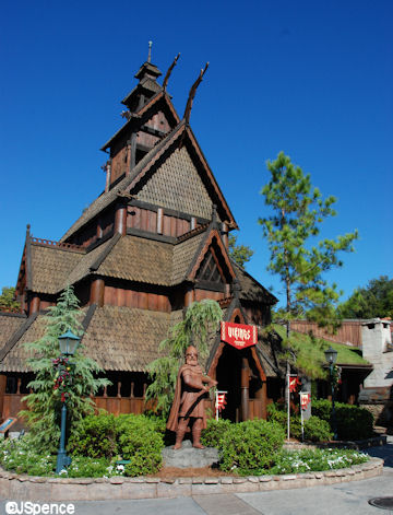 Epcot Stave Church