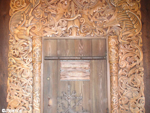 Carved Woodwork