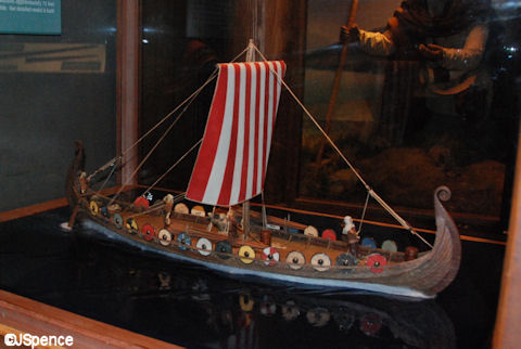 Model of the Oseberg