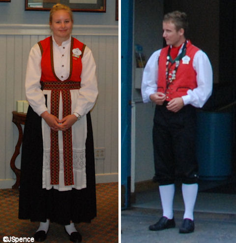 Norway Pavilion Costumes