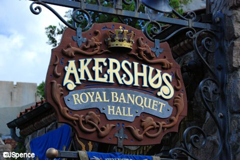 Akershus Royal Banquet Hall Sign