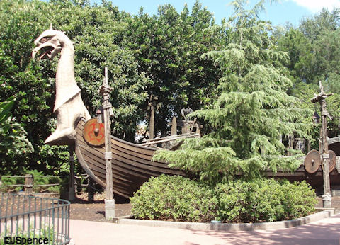 Viking Ship Playground