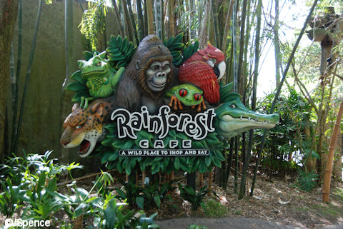 Rainforest Cafe Entrance
