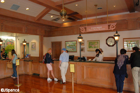 Old Key West Lobby