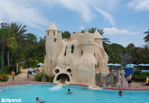 Sand Castle Slide