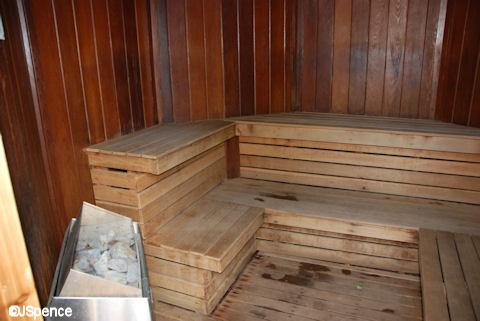 Poolside Sauna