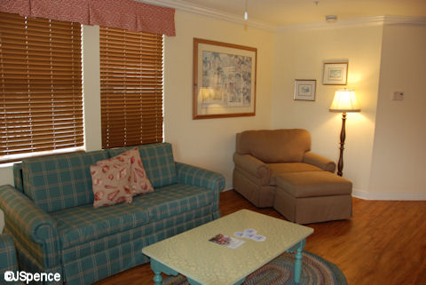Two-Bedroom Living Room