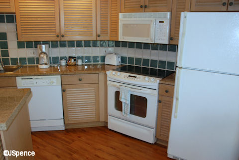 Two-Bedroom Kitchen
