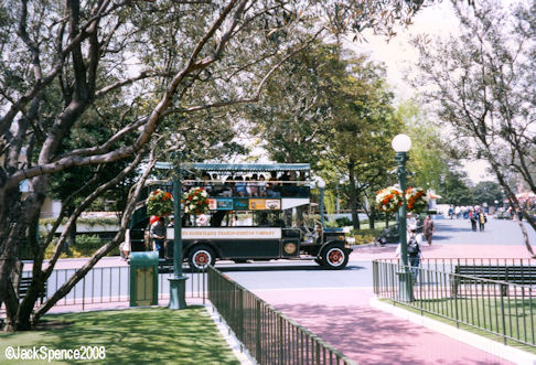Omnibus at Tokyo Disneyland
