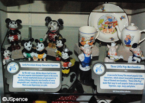 Early Disney Merchandise