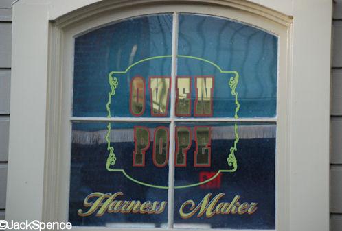 Owen Pope Main Street Window