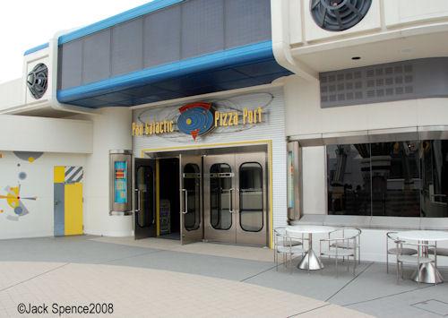 Pan Galatic Pizza Port Tokyo Disneyland