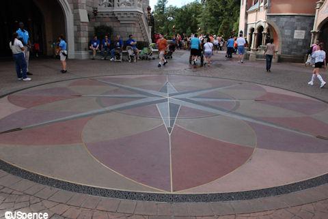 Fantasyland Compass Rose