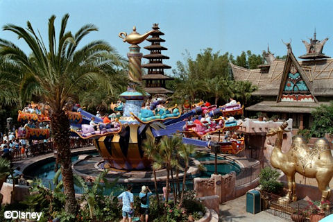 Flying Carpets of Aladdin