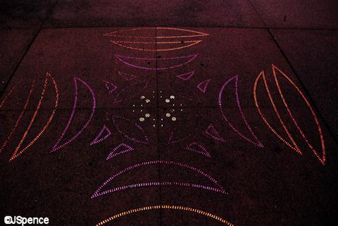 Dancing Fiber Optics