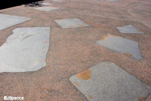 Japan Pavilion Pavement