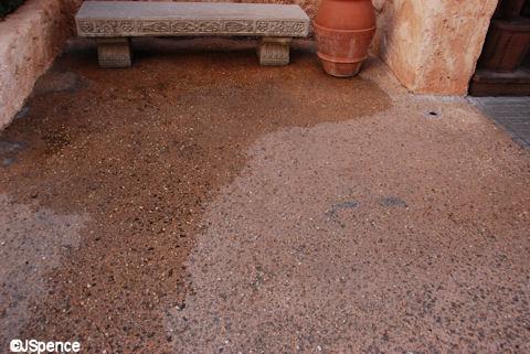 Morocco Pavilion Old City Pavement