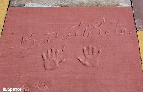 Foot and Hand Prints in Cement