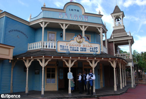 Tall Tale Inn and Café Front Entrance