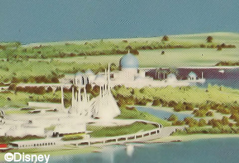 Artist's Rendering of Persian Resort