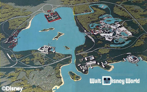 walt disney world map of resorts. Map of WDW
