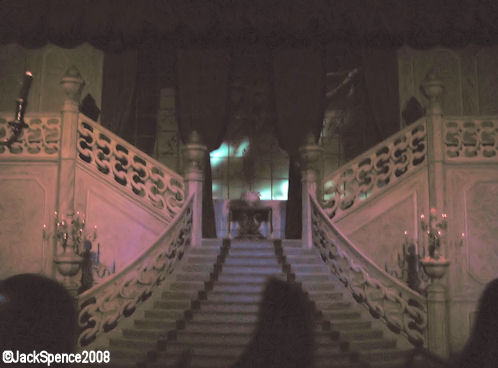 Sweeping Staircase Phantom Manor Disneyland Paris