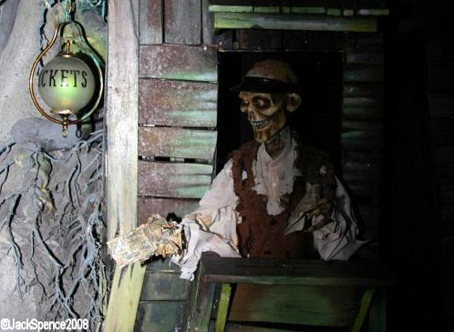 Ghost Town in Phantom Manor Disneyland Paris