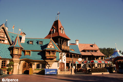 The Pinocchio Village Haus Magic Kingdom
