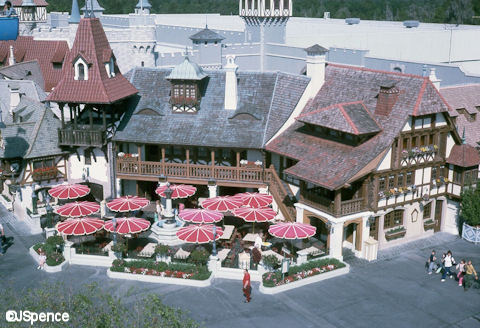 The Pinocchio Village Haus in 1975