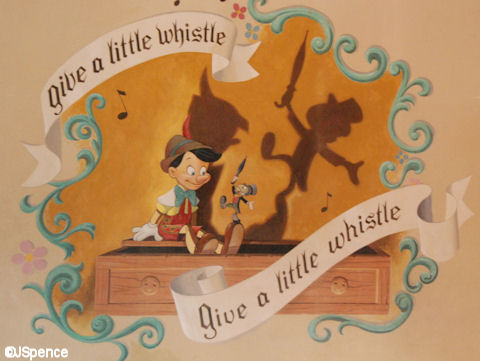 Jiminy Cricket Fresco