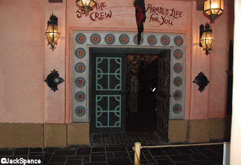 Pirate League Entrance