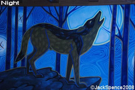 Pizzafari Night  Animals