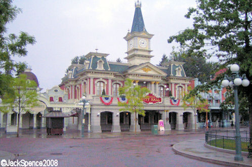 Disneyland Paris City Hall