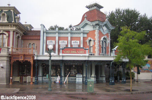 Disneyland Paris Story Book Store