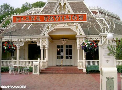 Plaza Pavilion at Tokyo Disneyland