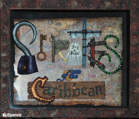 Pirate Shadow Box