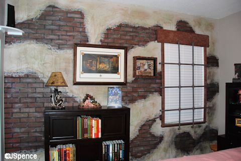 Pirate Room Feature Wall