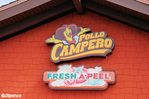 Pollo Campero Sign
