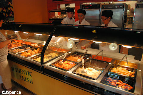 Pollo Campero Food Selections