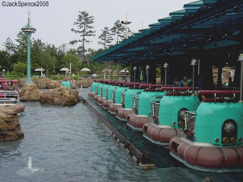 Aquatopia in Port Discovery Tokyo DisneySea